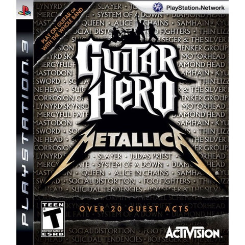 Guitar Hero: Metallica [PlayStation 3]