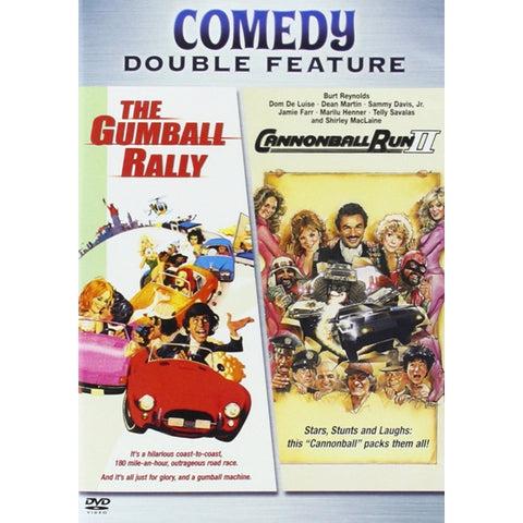 Comedy Double Feature: The Gumball Rally / Cannonball Run II [DVD]