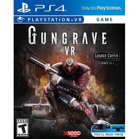 Gungrave VR: Loaded Coffin Special Limited Edition - PSVR [PlayStation 4]