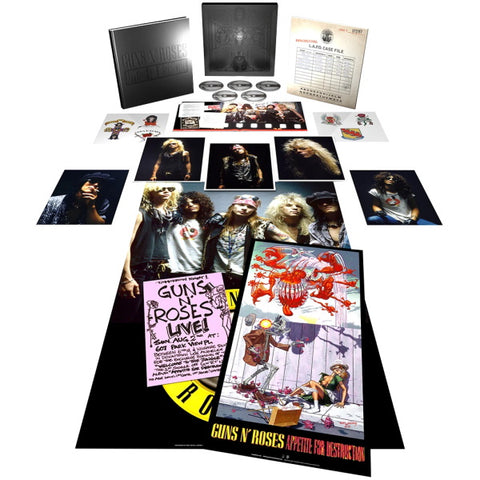 Guns N' Roses - Appetite For Destruction Super Deluxe Edition [Audio CD]