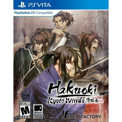 Hakuoki: Kyoto Winds [Sony PS Vita]
