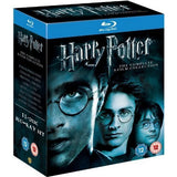 Harry Potter: The Complete 8-Film Collection [Blu-Ray Box Set]