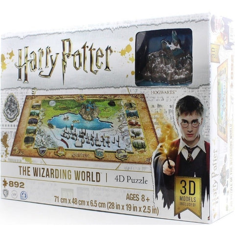 4D Cityscapes Harry Potter: The Wizarding World [Puzzle, 892 Piece]