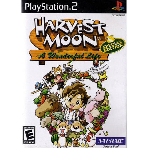 Harvest Moon: A Wonderful Life Special Edition [PlayStation 2]