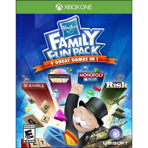 Hasbro Family Fun Pack: 4 Great Games In 1 [Xbox One]