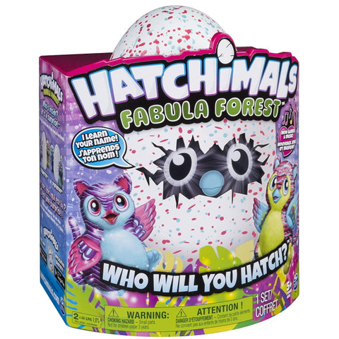 Hatchimals: Fabula Forest - Hatching Egg with Interactive Tigrette [Toys, Ages 3+]