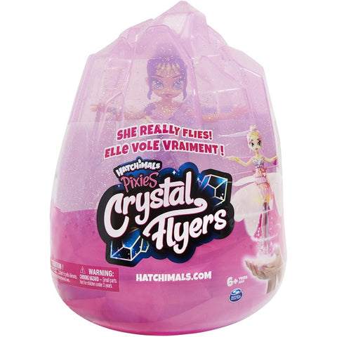 Hatchimals Pixies Crystal Flyers - Purple [Toys, Ages 6+]