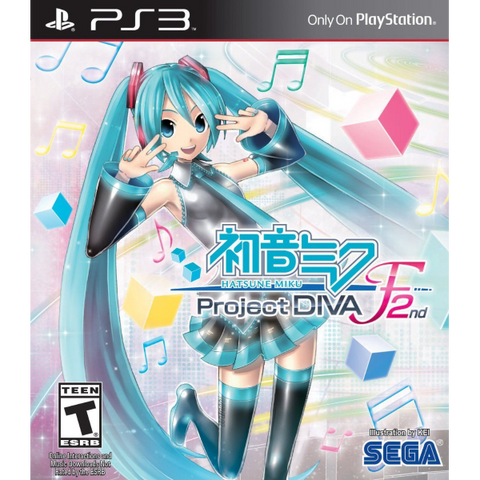 Hatsune Miku: Project Diva F 2nd [PlayStation 3]