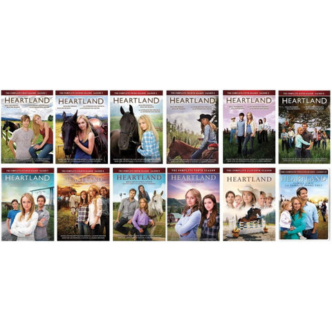 Heartland: Seasons 1-12 [DVD Box Set]