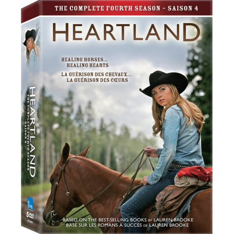 Heartland: The Complete Fourth Season [DVD Box Set]