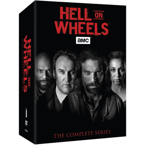 Hell on Wheels: The Complete Series - Seasons 1-5 [DVD Box Set]