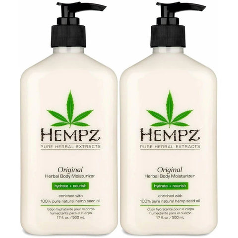 Hempz: Original Herbal Body Moisturizer Original - 2 Pack - 500mL [Healthcare]