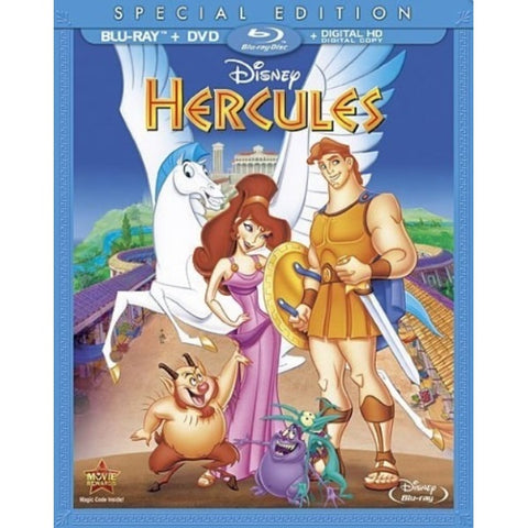 Disney's Hercules - Special Edition [Blu-Ray + DVD + Digital]