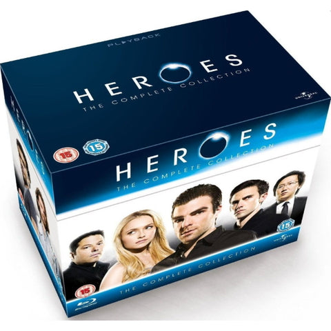 Heroes: The Complete Collection - Seasons 1-4 [Blu-Ray Box Set]