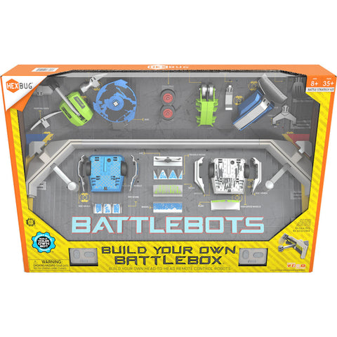 HEXBUG BattleBots: Build Your Own BattleBox - Remote Control Robots [Toys, Ages 8+]