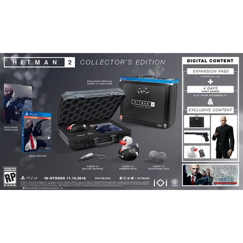 Hitman 2 - Collector's Edition [PlayStation 4]