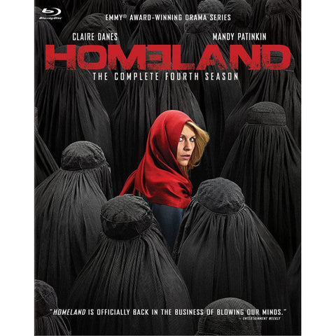 Homeland: The Complete Fourth Season [Blu-Ray Box Set]