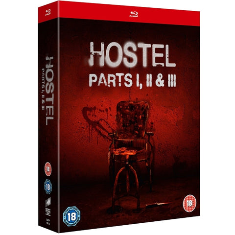 Hostel: Parts I, II and III [Blu-ray Box Set]