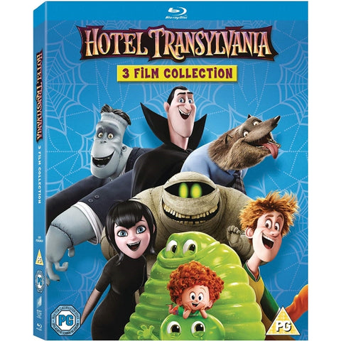 Hotel Transylvania - 3-Movie Collection [Blu-Ray Box Set]