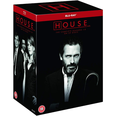 House M.D. - The Complete Series - Seasons 1-8 [Blu-Ray Box Set]