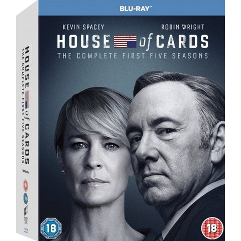 House of Cards: The Complete First Five Seasons [Blu-Ray Box Set]