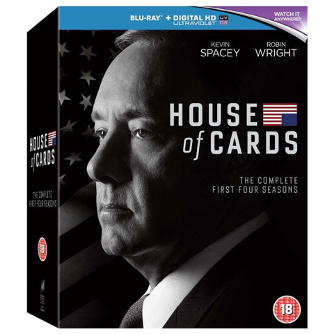 House of Cards: The Complete First Four Seasons [Blu-Ray Box Set]