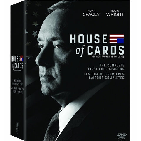 House of Cards - The Complete First Four Seasons [DVD Box Set]
