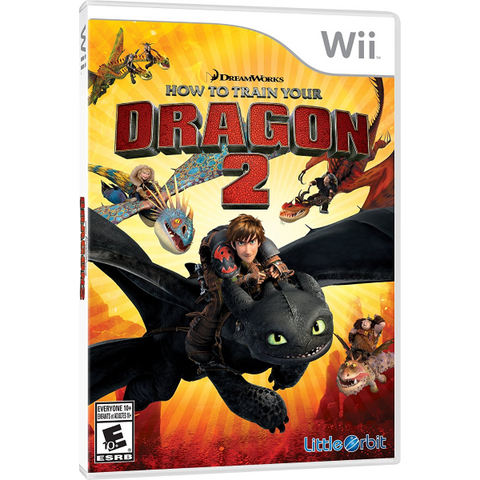 How to Train Your Dragon 2 [Nintendo Wii]