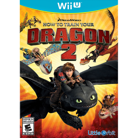 How To Train Your Dragon 2 [Nintendo Wii U]
