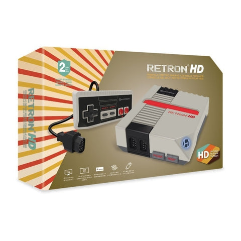Hyperkin RetroN 1 HD Gaming Console for NES - Grey [Retro System]