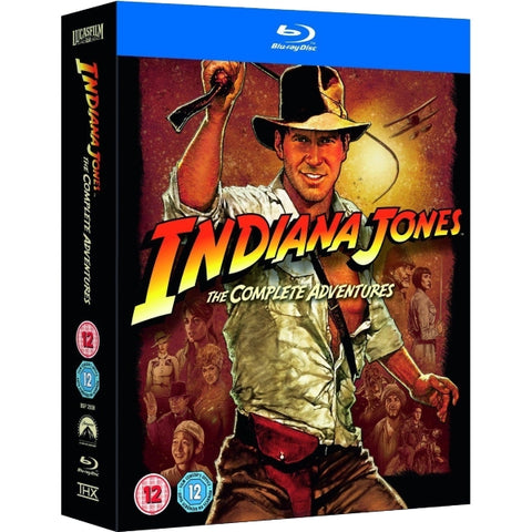 Indiana Jones: The Complete Adventures [Blu-Ray Box Set]