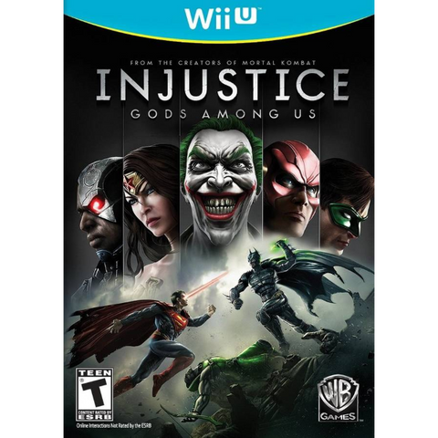 Injustice: Gods Among Us [Nintendo Wii U]