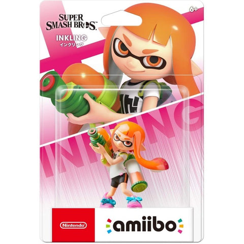 Inkling Girl Amiibo - Super Smash Bros. Series [Nintendo Accessory]