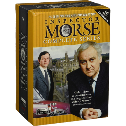 Inspector Morse: Complete Series [DVD Box Set, 36 Discs]