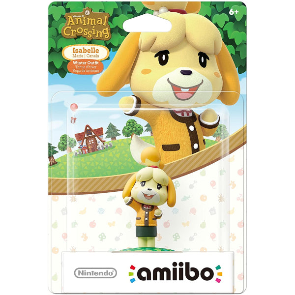 Isabelle Winter Outfit Amiibo Animal Crossing Series Nintendo Accessory