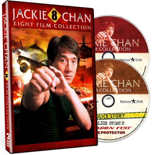 Jackie Chan: 8 Film Collection [DVD Box Set]