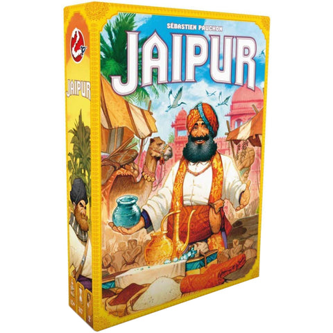 Jaipur - New Edition w/ Metal Coin [Card Game, 2 Players, Ages 10+]