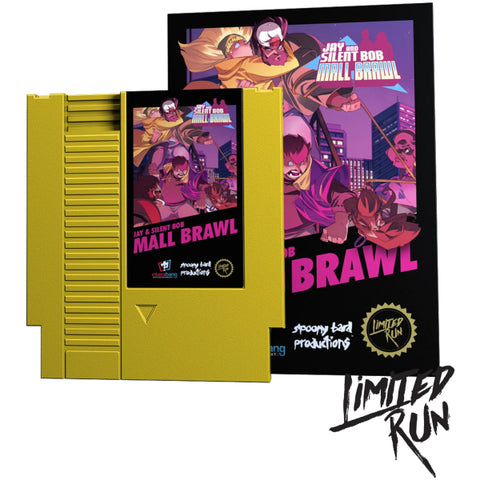 Jay and Silent Bob: Mall Brawl [NES]