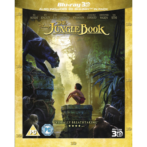 Disney's The Jungle Book [3D + 2D Blu-Ray]