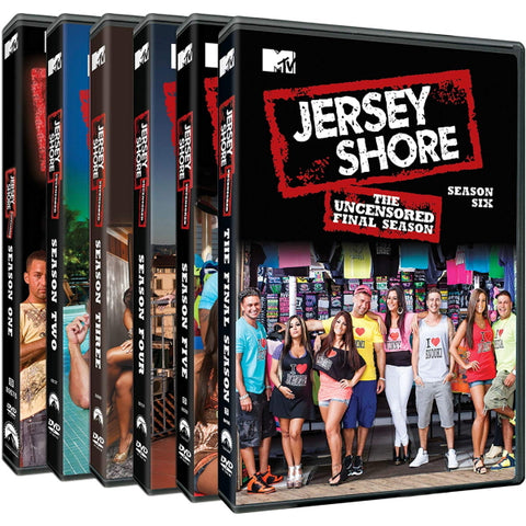 Jersey Shore: The Complete Series Uncensored - Seasons 1-6 [DVD Box Set]