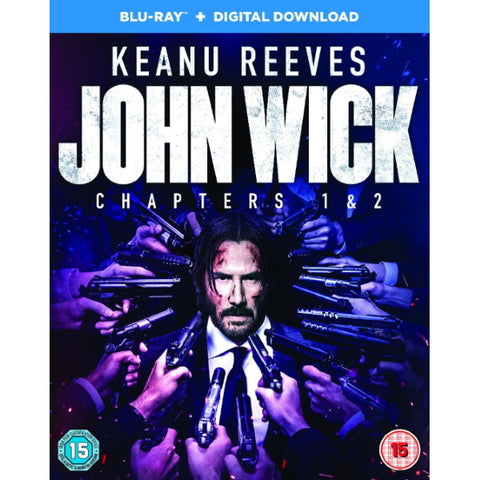 John Wick - Chapters 1 & 2 [Blu-Ray Box Set]