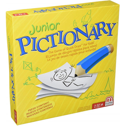 Junior Pictionary [Board Game, 2+ Players]