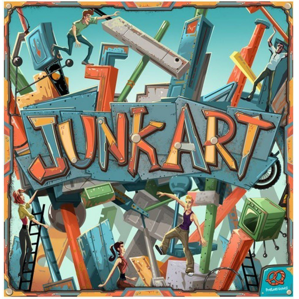Junk Art - Wooden Exclusive Edition [Board Game, 2-6 Players]