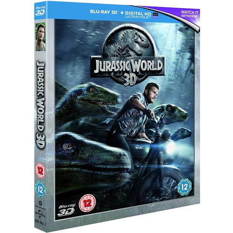 Jurassic World 3D [3D Blu-Ray + Digital]