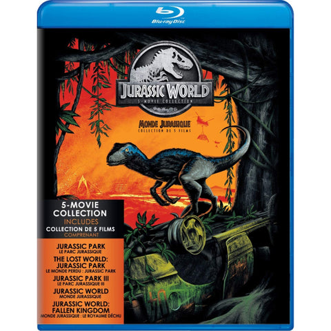 Jurassic World: 5-Movie Collection [Blu-Ray + Digital Box Set]