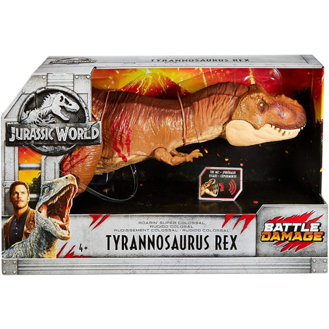 Jurassic World: Roarin' Super Colossal Tyrannosaurus Rex [Toys, Ages 4+]