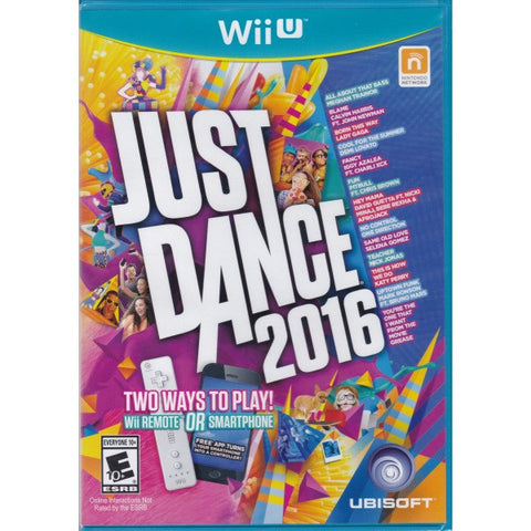 Just Dance 2016 [Nintendo Wii U]
