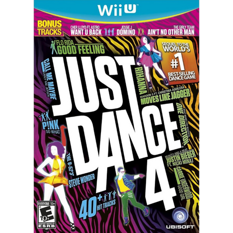 Just Dance 4 [Nintendo Wii U]