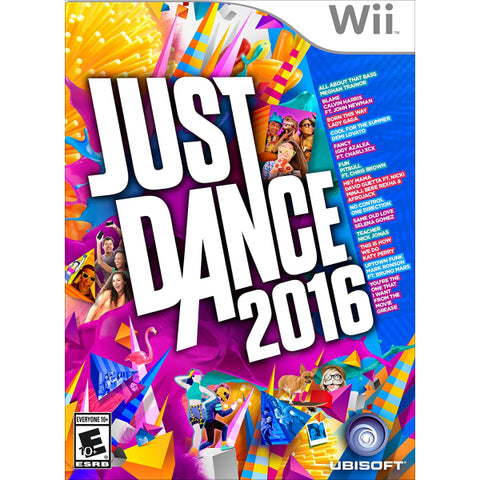 Just Dance 2016 [Nintendo Wii]