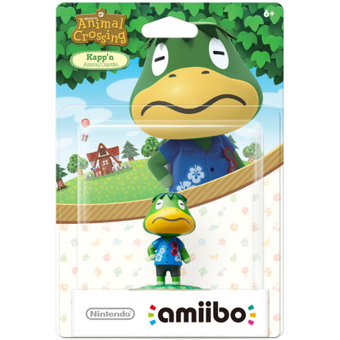 Kapp'n Amiibo - Animal Crossing Series [Nintendo Accessory]